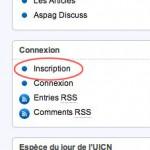 S'inscrire sur aspag.fr