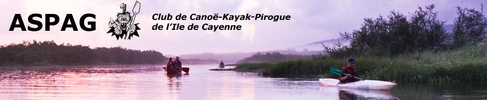 ASPAG - Club de canoë kayak pirogue de Guyane