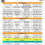 Programme 4ème trimestre 2013