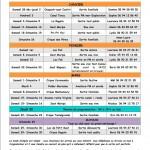 Programme du 1er trimestre 2014