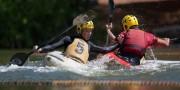 2eme manche du championnat de Kayak polo
